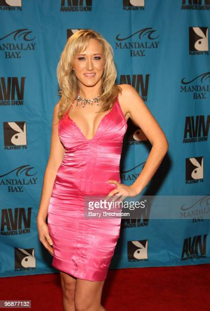 Adult Film Star Alana Evans arrives on the red carpet at the 2009 AVN Awards Show at the Sands Expo Convention Center on January 10 2009 in Las Vegas...