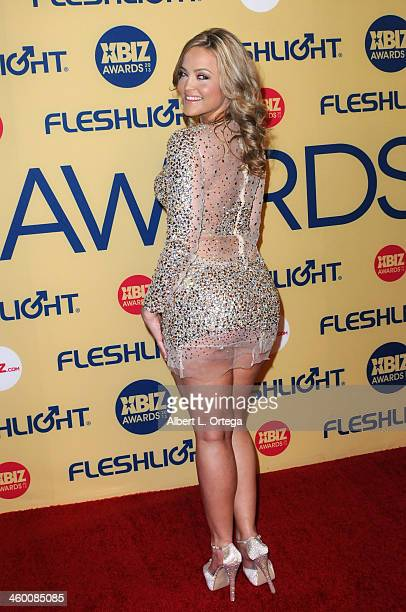 Adult film star Alexis Texas arrives for the 2013 XBIZ Awards held at the Hyatt Regency Century Plaza on January 11 2013 in Century City California