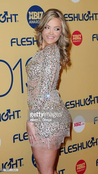 Adult film star Alexis Texas arrives for the 2013 XBIZ Awards held at the Hyatt Regency Century Plaza on January 11 2013 in Century City California
