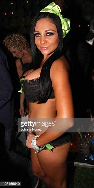 Adult Film Star Audrey Bitoni attends the The Lingerie Party hosted by adult entertainment stars at Greenhouse on May 20, 2010 in New York City.
