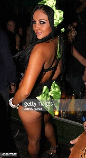 Adult Film Star Audrey Bitoni attends the The Lingerie Party hosted by adult entertainment stars at Greenhouse on May 20 2010 in New York City