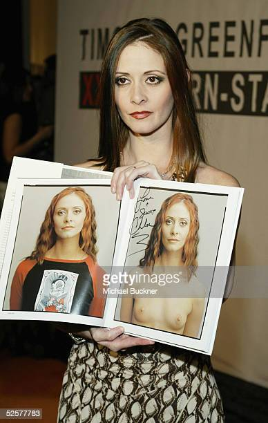 Adult film star Chloe arrives at TEN's presentation of Timothy GreenfieldSanders XXX 30 PornStars Portraits at Bergamont Station on April 1 2005 in...