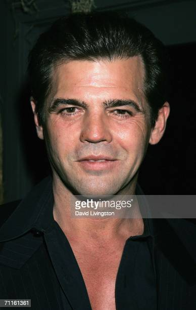 Adult film star Jeff Stryker attends the unveiling of the new exhibit Idols of Gay Hollywood at The Hollywood Museum on June 8 2006 in Hollywood...