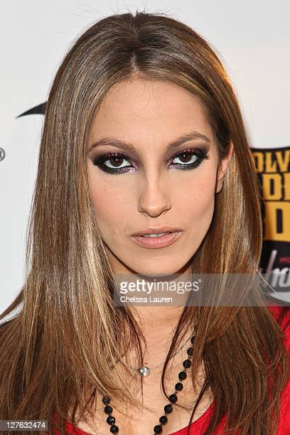 Adult film star Jenna Haze arrives at the 3rd Annual Revolver Golden God Awards at Club Nokia on April 20, 2011 in Los Angeles, California.