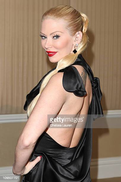 Adult film star Jenna Jameson arrives at the 21st Annual Night of 100 Stars Awards Gala at Beverly Hills Hotel on February 27, 2011 in Beverly Hills,...