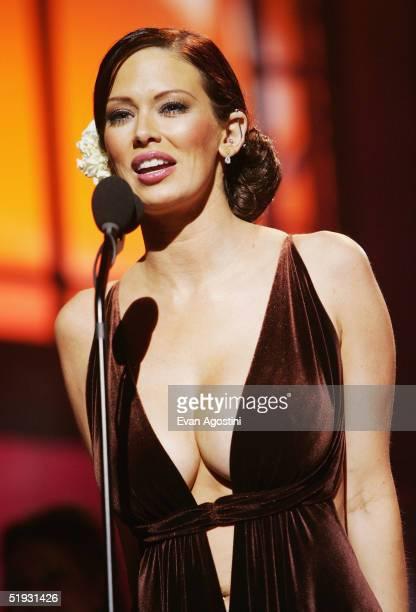 Adult film star Jenna Jameson participates in the 2005 AVN Awards on January 8 2005 at the Venetian Hotel in Las Vegas Nevada