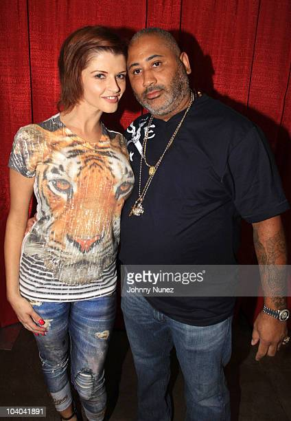 Adult film star Joslyn James and James Ferrell attend the Adultcon Adult Entertainment Convention at Los Angeles Convention Center on September 12...