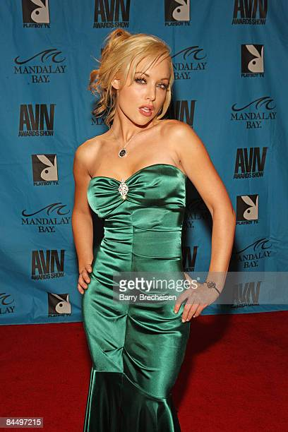 Adult Film Star Kayden Kross arrives on the red carpet at the 2009 AVN Awards Show at the Sands Expo Convention Center on January 10, 2009 in Las...