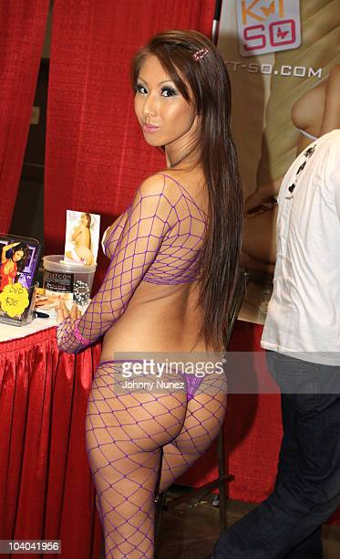 Adult film star KtSo attends the Adultcon Adult Entertainment Convention at Los Angeles Convention Center on September 12 2010 in Los Angeles...