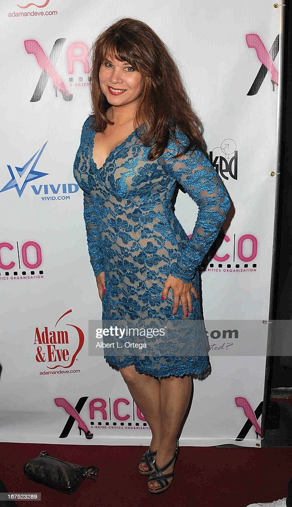 Adult film star Lacey Logan arrives for the 29th Annual XRCO Awards held at SupperClub Los Angeles on April 25, 2013 in Hollywood, California.