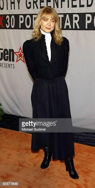 Adult film star Nina Hartley arrives at TEN's presentation of Timothy GreenfieldSanders XXX 30 PornStars Portraits at Bergamont Station on April 1...