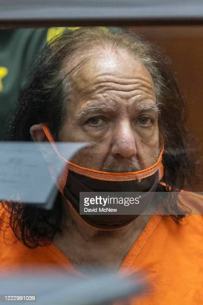 Adult film star Ron Jeremy appears for arraignment on rape and sexual assault charges at Clara Shortridge Foltz Criminal Justice Center on June 26...