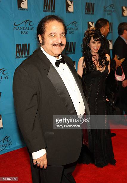 Adult Film Star Ron Jeremy arrives on the red carpet at the 2009 AVN Awards Show at the Sands Expo Convention Center on January 10 2009 in Las Vegas...