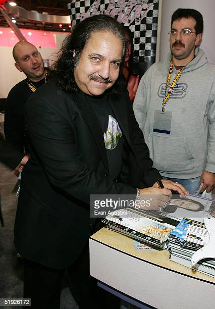 Adult film star Ron Jeremy participates in the 2005 AVN Adult Entertainment Expo at the Sands Convention Center at the Venetian Hotel January 7 2005...
