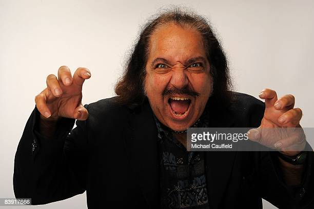 Adult film star Ron Jeremy poses for a portrait during the 2008 American Music Awards held at Nokia Theatre LA LIVE on November 23 2008 in Los...