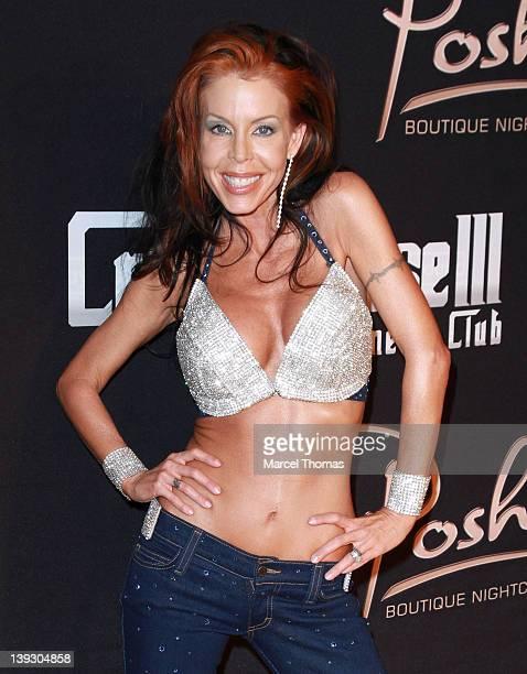 Adult Film star Tabitha Stevens celebrates her birthday at Crazyhorse III at Playground on February 18 2012 in Las Vegas Nevada