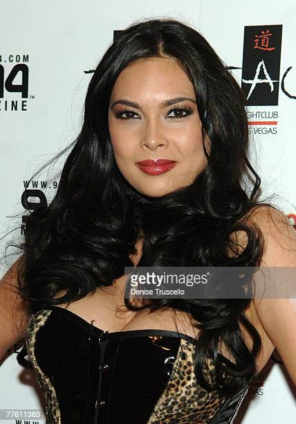 Adult Film Star Tera Patrick Arrives At The Annual Taolloween Held At Tao Asian Bistro In