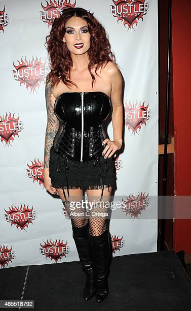 Adult film star Tera Patrick at the I Am Sin Event the incredible cosmetic line from model performer and owner of I AM SIN Cosmetics Masuimi Max held...