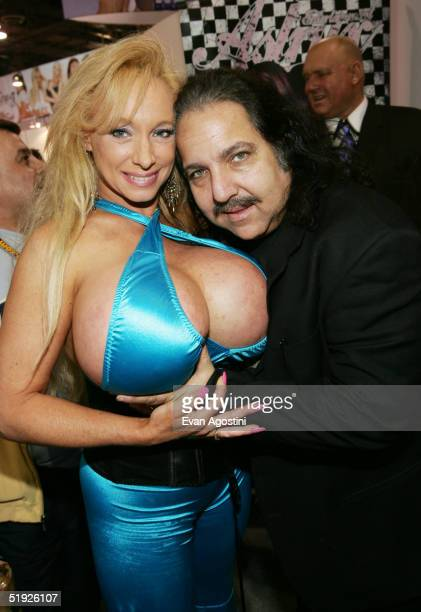 Adult film stars Echo Valley and Ron Jeremy participate in the 2005 AVN Adult Entertainment Expo at the Sands Convention Center at the Venetian Hotel...