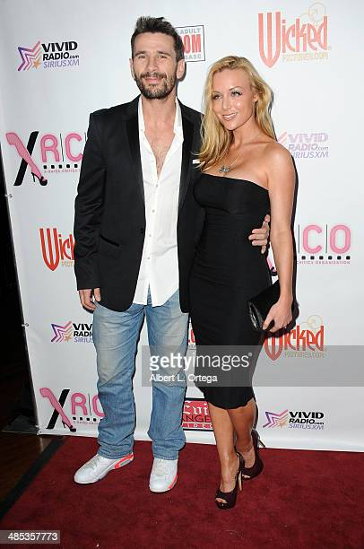 Adult film stars Manuel Ferrera and Kayden Kross attend The BIG Annual 30th XRCO Awards hosted by Ron Jeremy held at OHM at Hollywood & Highland on...