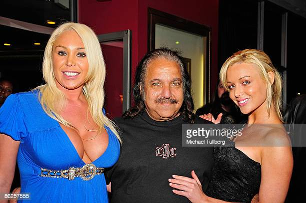 """Adult film stars Mary Carey, Ron Jeremy and Kayden Kross arrive at the premiere of Jeremy's new film """"One-Eyed Monster"""", held at the Fine Arts..."""