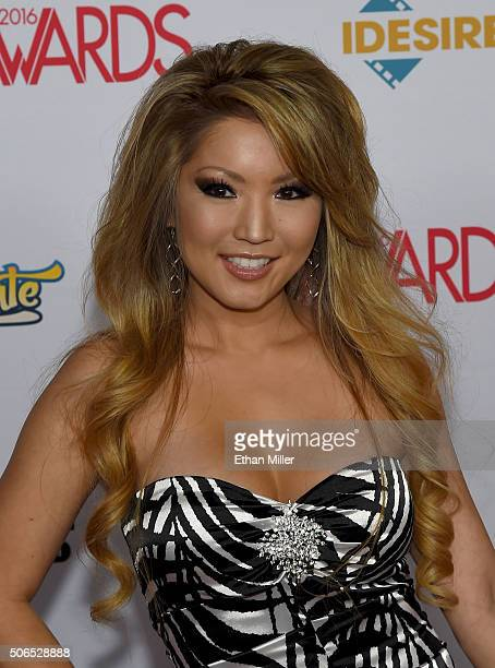 Adult glamour model Tia Kai attends the 2016 Adult Video News Awards at the Hard Rock Hotel Casino on January 23 2016 in Las Vegas Nevada