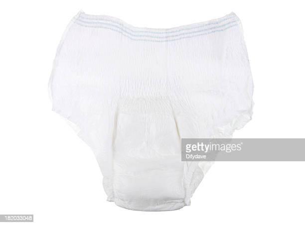 Adulte Incontinence sous-vêtements, isolé sur blanc