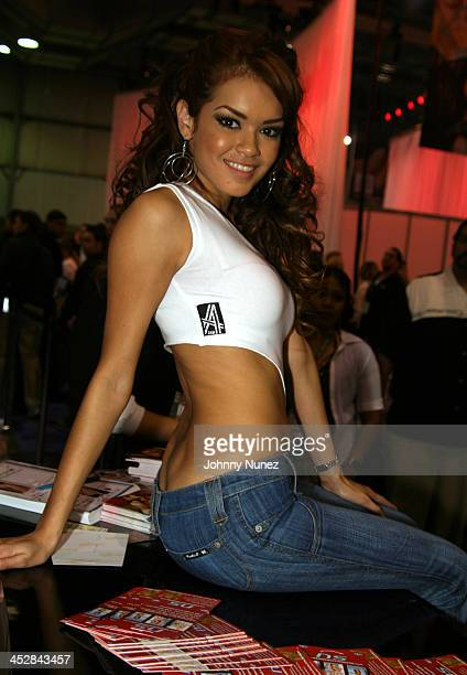 Adult Movie Actress Kaylani Lei during 2005 AVN Adult Entertainment Expo at Sand Expo Center in Las Vegas Nevada United States