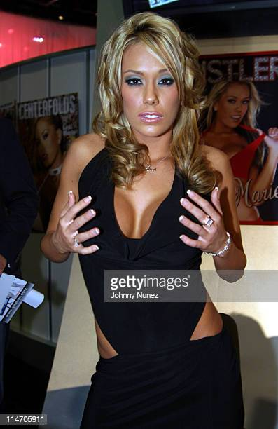 Adult Movie Actress Lexi Marie during 2005 AVN Adult Entertainment Expo at Sand Expo Center in Las Vegas Nevada United States