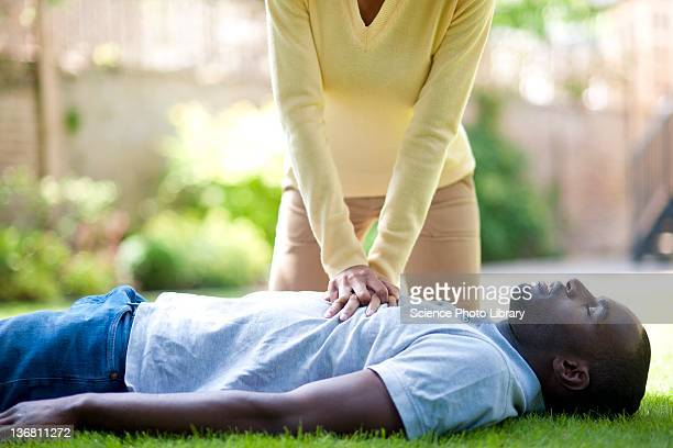 adult resuscitation - cpr stock photos and pictures