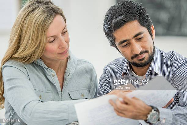 Adults Taking an Education Course