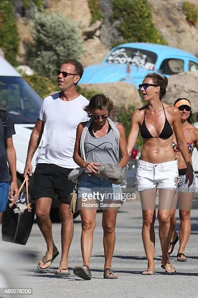 Aduly film star Rocco Siffredi is sighted in Mykonos 2015 July 9 in Mykonos Greece