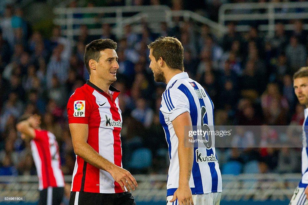 Football_League BBVA : Real Sociedad and Athletic Club : ニュース写真