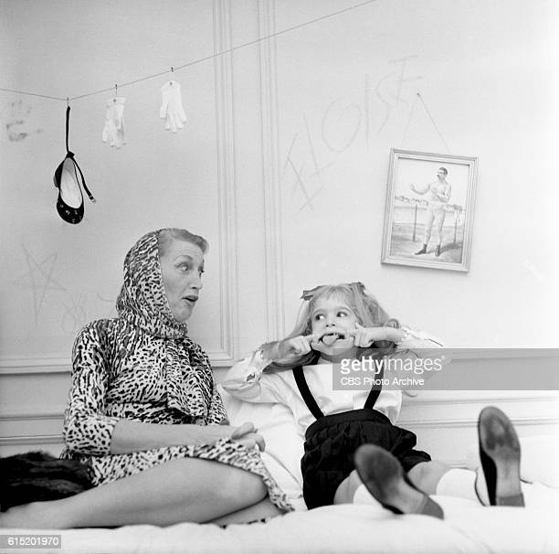 "Advance art for CBS's ""Playhouse 90"" presentation of 'Eloise' with Evelyn Rudie in the starring role, shot October 29, 1956 at the Plaza Hotel, New..."