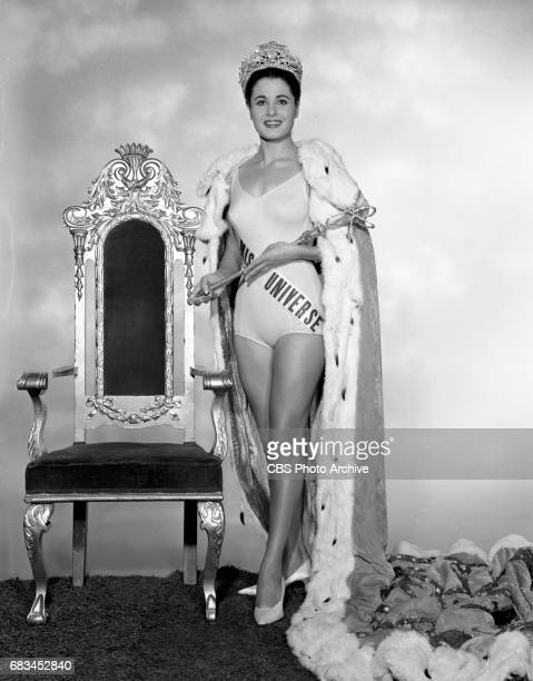 Advance photo session for the Miss Universe Beauty Pageant. Pictured is Norma Beatriz Nolan of Argentina . Image dated May 6, 1963. New York, NY.