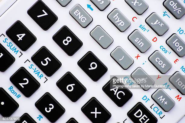 Advanced calculator detail