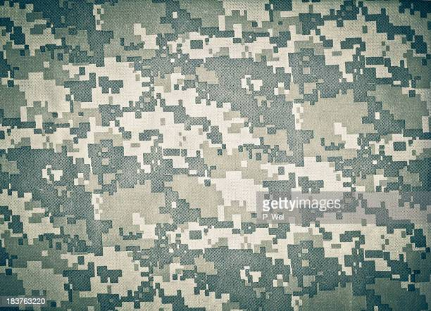 advanced combat uniform (acu) camouflage background - camouflage stock pictures, royalty-free photos & images
