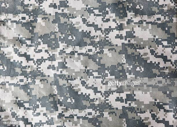 Moderne Military Uniform (ACU) Camouflage-Hintergrund.