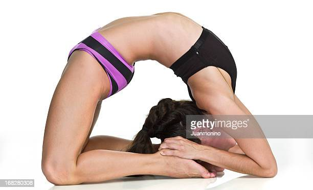 Advanced Hot Yoga Pose (Laghu Vajrasana)