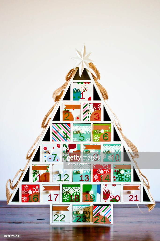 Advent calendar : Foto de stock