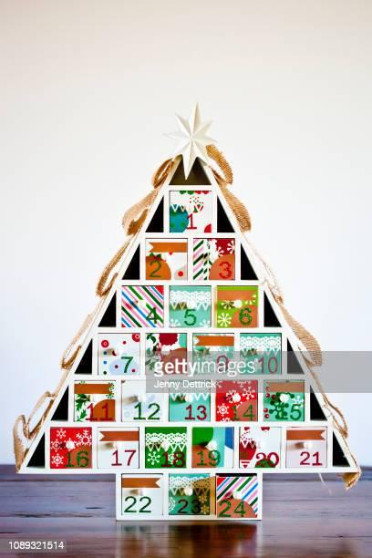advent calendar - advent calendar stock photos and pictures