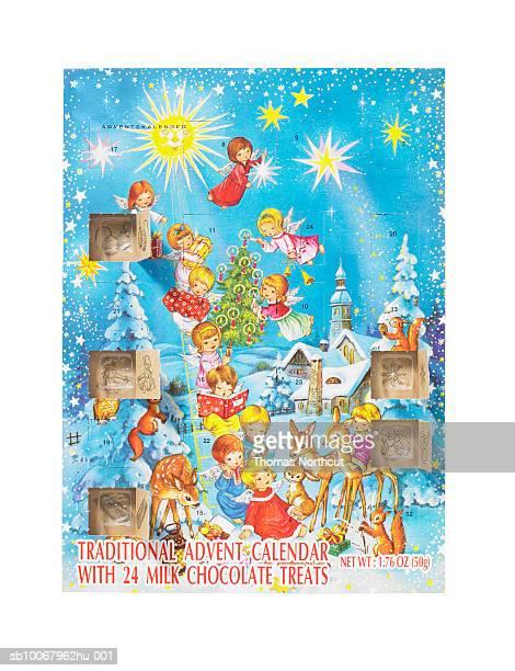 advent calendar - advent calendar fotografías e imágenes de stock