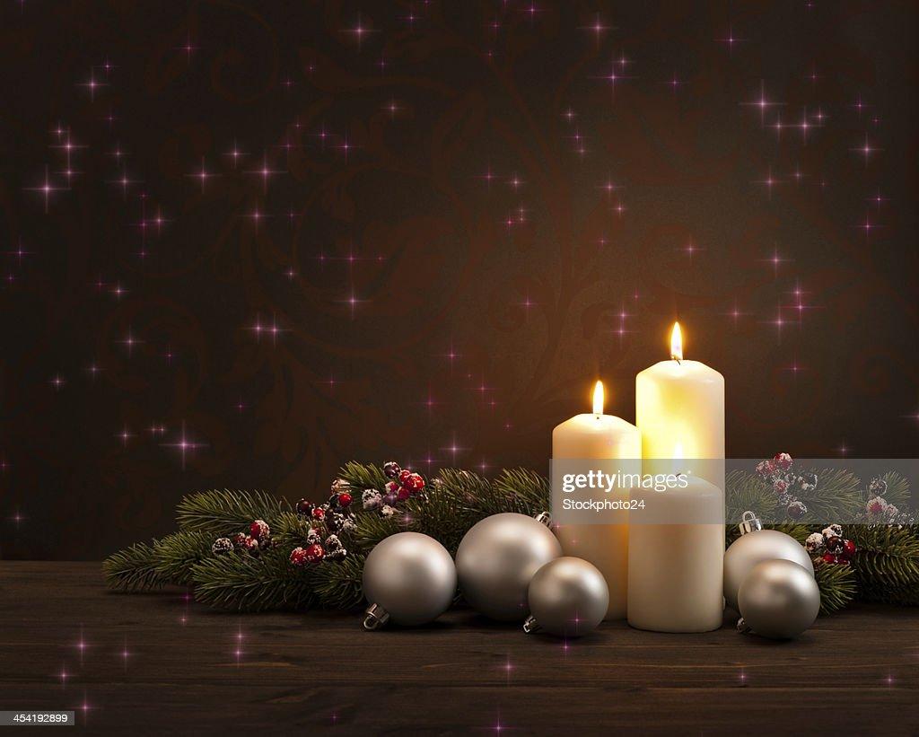 Advent Weihnachtskranz : Stock-Foto