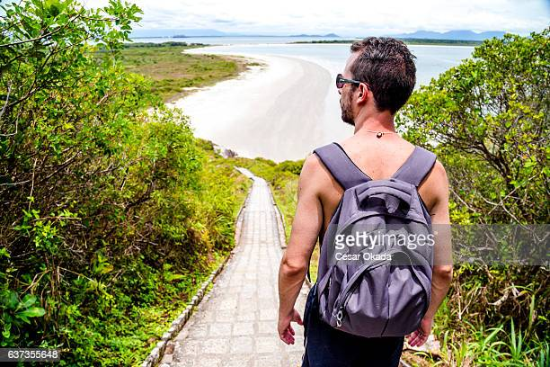 adventure at ilha do mel - parana state stock pictures, royalty-free photos & images