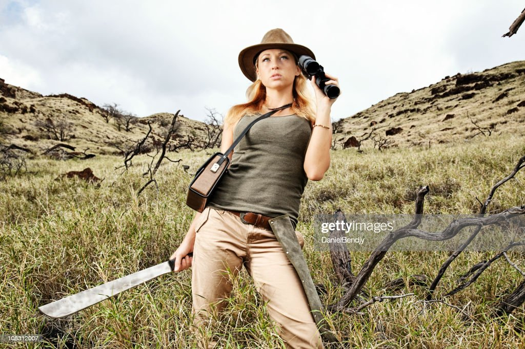 Adventure Girl High-Res Stock Photo - Getty Images