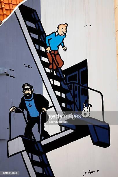 Aventure à Bruxelles avec Tintin