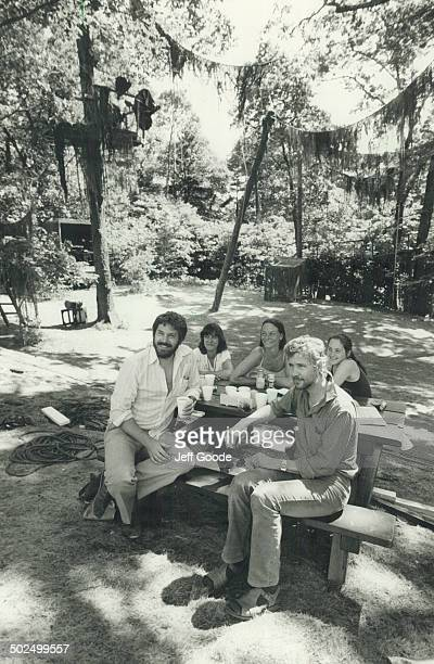 Adventure in High Park Toronto Free Theatre artistic director Guy Sprung and composer John MillsCockell take time out with colleagues