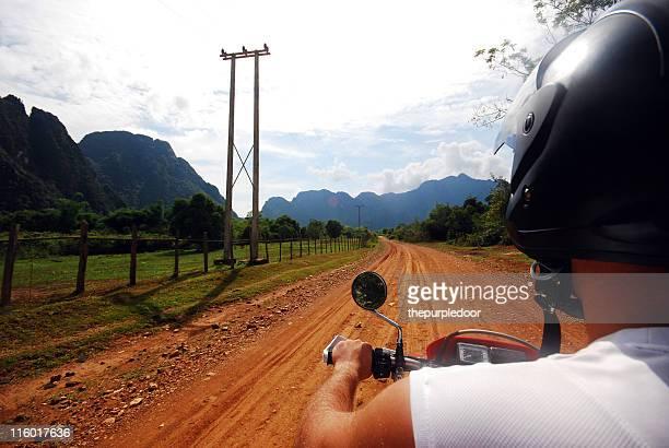 Adventure motorbike trip in Laos