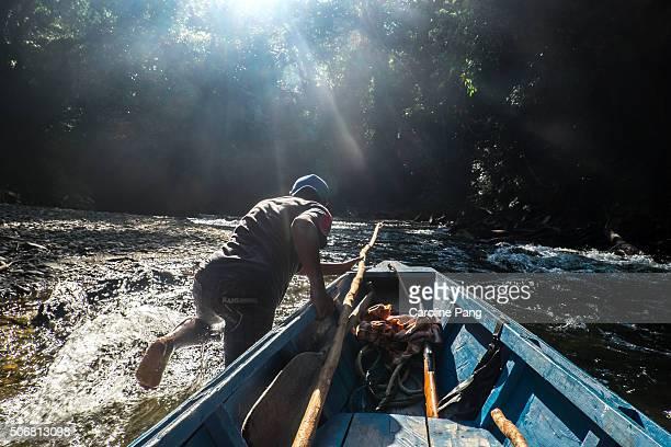 Adventure on Borneo's wild river