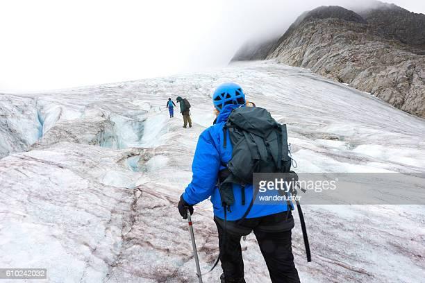 Adventure on Lemon Glacier